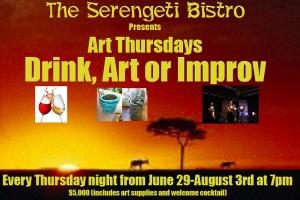 Art, Wine, Improv