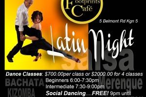 Latin Night @ Footprints
